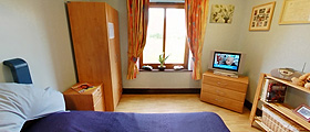 Bedroom at Mallard Care Home